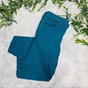 Pilcro Stet skinny Teal Jeans